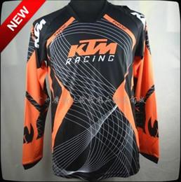 Wholesale-2015 brand new summer autumn jersey dh bike ktm racing jersey motocross KTM bike bicycle Anti-sweat shirt KTM ready to race
