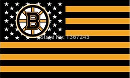 Boston Bruins NHL National Hockey League USA Flag 3X5 ft custom Banner 90x150cm Sport Outdoor HBB4