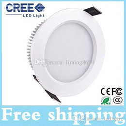 2016 Newest Led Downlights 9W 12W 15W 18W Dimmable Led Ceiling Down Lights 150 Angle Warm Cool White AC 110-240V