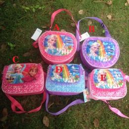Enfants enfants sacs à bandoulière en Ligne-Frozen Satchel Sacs Elsa Anna Satchel Sacs Mode sac à dos Sacs à main enfants Enfants à dos Filles épaule unique Sacs