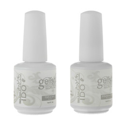 Base Top Coat Nail Art Soak Off UV LED Gel Nail Polish IDO Gelish 2Pcs Lot Foundation Top-it-Off