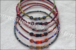 Wholesale us college necklace NCAA singe rope necklace team and American football team mix order P
