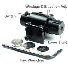 Mini Pistol   Handgun Red Dot Laser Sight 5pcs Lot