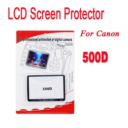 Wholesale-For Canon 500D Mark II YE LCD Screen Protector