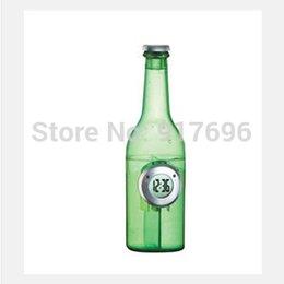 Wholesale New creative gift product beer shape water power clock