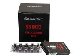 Kangertech SSOCC Vertical OCC Coils 0.15 0.2 0.5 1.2 1.5ohm Coil For Kanger Subtank Mini V2 Atomizer