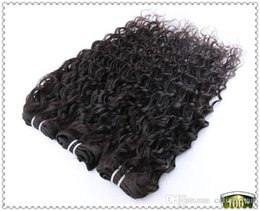 Wholesale Best Selling Cheap Unprocessed nature Jerry Curl inch A quality jerry curl brazilian hair