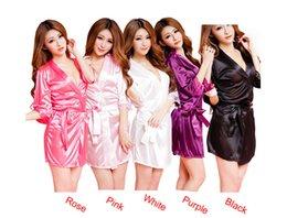 Wholesale 2016 Hot Femmes Mode Classique Peignoir pur Role Sexy Lingerie sauvage Temptation sommeil Wears meilleure offre