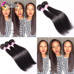 Cheveux vierges indigènes 3pcs / lot cheveux droits humains tissés grade 7a naturel noir indigène cheveux brins cheveux extension 100g / pcs 8-32 pouces à partir de 14 pouces de tissages droites fournisseurs