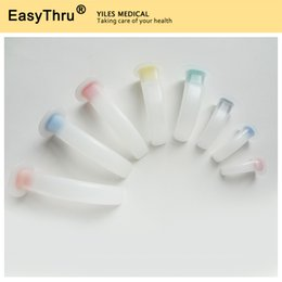 Medical Oral Air Way Color Coded Guedel Airway Tube for First Aid Patients Guedel Airway Tube