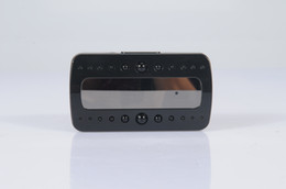 Enregistrement vidéo cachée à vendre-HD 1080p espion V26 noir perle RF vision nocturne alarme mini dvr horloge mouvement de détection vidéo son enregistrement caméra cachée caméra d'horloge