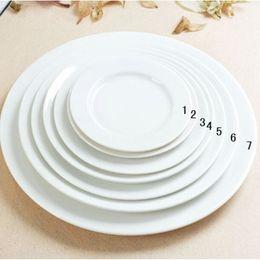 Wholesale Western Style Ceramic Porcelain New Bone China Dinner Steak Plate Dessert Serving Cake Dishes Sets Steak Dish Luzerne Dinnerware