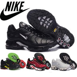 2016 Shoes Run Air Max Nike TN Air Max Mens Running Shoes Outdoor Athletic Sneakers Trainers Footwear Tennis Basketball Boots size 41-46 Wholesale Mix Order New budget Shoes Run Air Max
