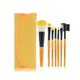 Wholesale US Kafu gifted wallet 7 9 color makeup brush sets makeup brush sets factory direct large favorably