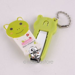 Wholesale Colorful Nail Clipper - Wholesale-2015 New Creative Mini Colorful Cute Cartoon Pattern Nail Clippers Nail Trimmers Manicure Care Tool Nail Tools L5 LX*JJ0074