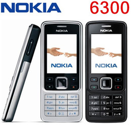 Original Refurbished Phone Nokia 6300 Unlocked Cell Phone TFT, 16M colors Russian Keyboard English Keyboard Cheapest Phone