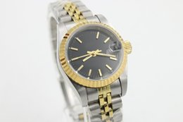 Wholesale New Arrivals lady s JUST watches Automatic Machinery Black dial Stainless steel bracelet Good quality watch