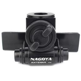 Wholesale Original NAGOYA RB Adjustable Angle Stainless Steel Hatchback Door Mount Mobile Car Radio Antenna Bracket Black J6409A