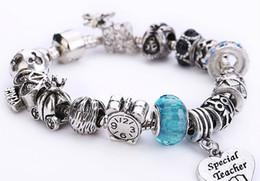 Wholesale Fashion Women Men Bead DIY Jewelry Accessories Fit Bracelet Tibetan Silver Alloy Large Mail Eye Beads