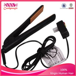 Wholesale Best seller Classical BLACK Hairstyling Flat Iron with Retail Box hair straightener Free cheap DHL shipping