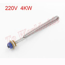 Wholesale DN25 AC V KW Stainless Steel Heater Electric Heating Element for Solar energy Water Tank