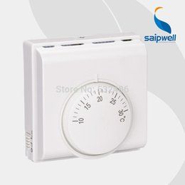 Wholesale Floor Heating System Temperature Control Saipwell SP C central Air condition house room Mechanical thermostat on off switch