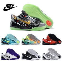 Wholesale Nike KOBE IX ELITE perspective Men s low basketball shoes Original Cheap Best trainers sneakers shoes