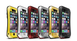 Wholesale Shockproof Dust Dirt Proof Aluminum Metal Military Heavy Duty Protection Cover case for iphone plus