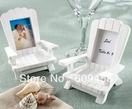 Wholesale quot Beach Memories quot Miniature Adirondack Chair Place Card Holder RWF PC