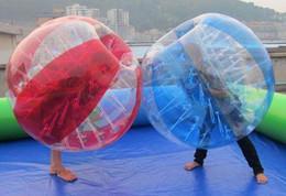 Wholesale Tienda especializada bolas de parachoques bola zorb M o M y mm mm PVC o bola de fútbol TPU niños inflables y juguetes para adultos