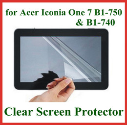 Wholesale 5pcs Ultra Transparent LCD Screen Protector for Acer Iconia One B1 B1 Protective Film No Retail Package