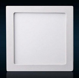 Hot Sale Round Square 6W 12W 18W Dimmable Led Panel Lights Surface Mounted Led Downlights Warm Natural Cool White AC 100-240V + Drivers