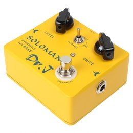 Wholesale 3pcs Joyo Dr J D Soloman Overdrive Bass Electric Effect Pedal True Bypass with Aluminum Alloy Housing for Bass MIA_505