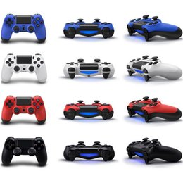 Wholesale PS4 Wireless Bluetooth Game Controller Gamepad for PlayStation Game Controller Joystick for Android computer Video Games