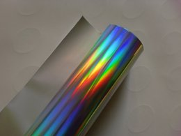 Wholesale holographic foil plain rainbow gold and silver size cm m all countries