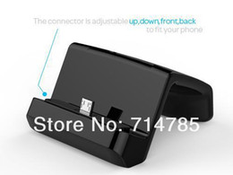 Wholesale Desktop Sync Charger Dock Cradle for Samsung Galaxy Mega I9150 I9200 Galaxy S2 S3 S4 Mini Grand Note i9082