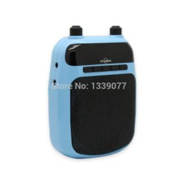 New Wonderful Tool For Teaching Voice Amplifier Loudspeaker With MP3 Player FM Radio Remote Control Support TF SD Memory Card