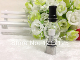2pcs Glass tank atomizer Globe Wax dry herb vaporizer pen vapor cigarettes VAPOR GLOBE ATOMIZER for dry herb wax electronic
