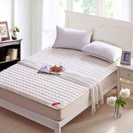 Al por mayor-Nueva llegada venta caliente tejido de punto grueso colchón colchón suave cama topper # 10 desde colchones de colchón proveedores