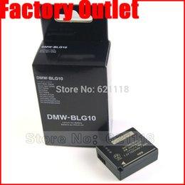Wholesale DMW BLG10 BLG10E BLG10PP BLE9 BLE9E BLE9PP Camera Battery for Panasonic Lumix DMC GF6 GX7 GF3 GF5 Batteries bateria celular
