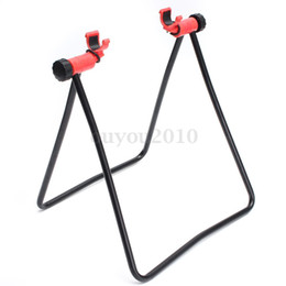 Wholesale Bike Bicycle Storage Folding Wheel Hub Floor Stand Cycling Parking Rack Adjust