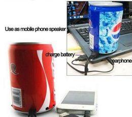 Wholesale 2016 bathroom speakers speaker Best USB Mini Portable Coke Speaker CoCa Cola Pepsi Budweiser