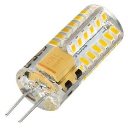 G4 48-3014 SMD High Power LED Bulb Silicone Crystal Bulb Smart Chip 3W AC 110V 12V Crystal Light Bulb