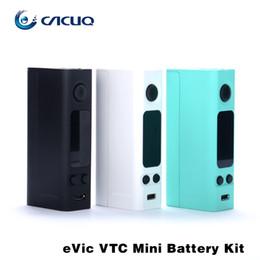Evic vtc en venta-Cigarrillos electrónicos vape mods Original Joyetech Evic VTC Mini 60w Caja Mod Control de temperatura y cig mods Traje Ego One Mega VT Atomizer