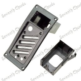 Wholesale Acoustic Guitar Equalizer EQ R Piezo Pickup Cover V Battery Boxs Holder Case Compartment Cover