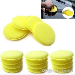 12x Waxing Polish Wax Foam Sponge Applicator Pads For Clean Cars Vehicle Glass 1OET