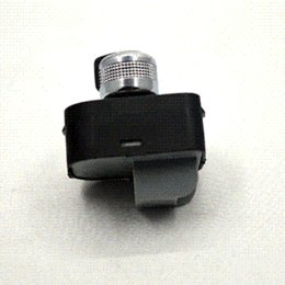 Wholesale New auto part Chrome adjust knob side mirror switch without floding for Audi A4 S4 B6 A6 Quattro Q7 RS4 F0