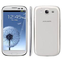 Wholesale Unlocked Original US Version Samsung Galaxy S3 i9300 GSM 3G Quad Core 16GB Storage 4.8Inch 8MP Camera smartphone Free DHL 002835
