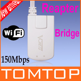 Wholesale Vonets New Mini Wireless WiFi Adapter Bridge Repeater Booster World s Smallest Mbps for STB IPTV Sky Box X BOX