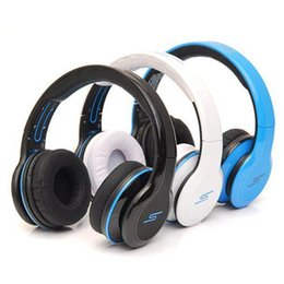 Wholesale SMS Audio SYNC Wired STREET by Cent Headphones Black White Blue Over Ear Wired Headphones
